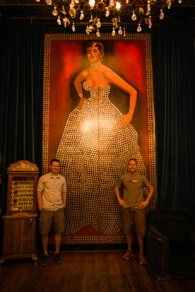Scott and Chris with the Silver Queen