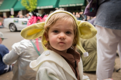 Riley is the cutest Yoda ever!