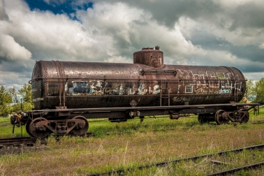 Rusty Train Car