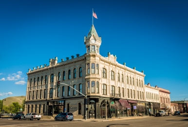 The Geiser Grand Hotel in Baker City, OR