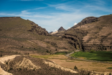 John Day Fossil Beds - Mascall Overlook and Cathedral Rock