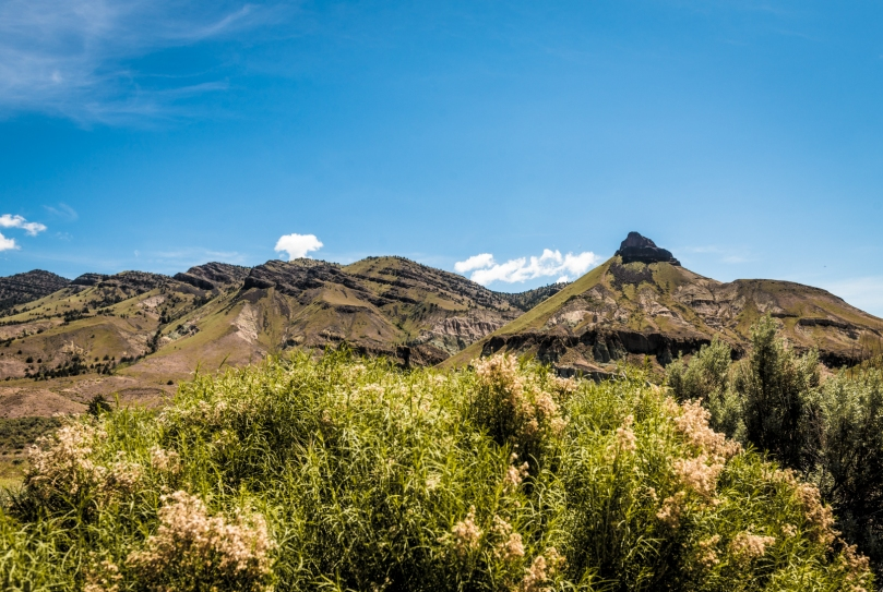 Sheep Rock - John Day Fossil Beds