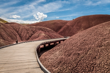 The Painted Hills Boardwalk