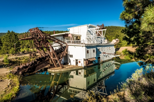 The Sumpter Valley Gold Dredge
