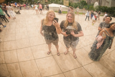 Self portrait at Cloud Gate