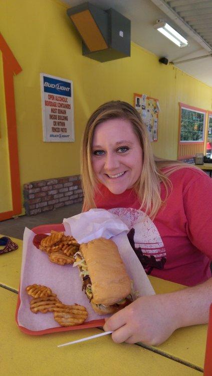 The Bigfoot Burger!