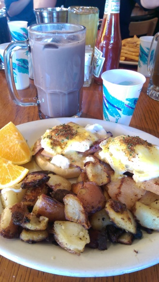 Eggs Benedict....Yes please!
