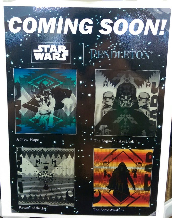 Star Wars Pendleton Wool Blankets = Ridiculously awesome!