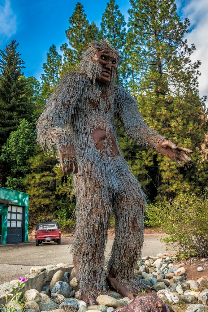 Happy Camp, CA - First Bigfoot sighting