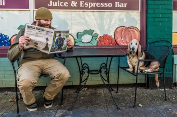 Chad & Chester discussing the daily news