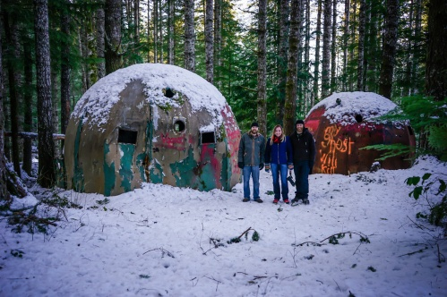Devin, me and Ryan at the Gnome Domes