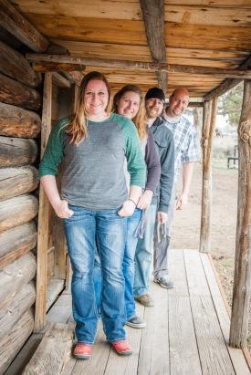 Melissa, Erin, Devin and Jason Whitney