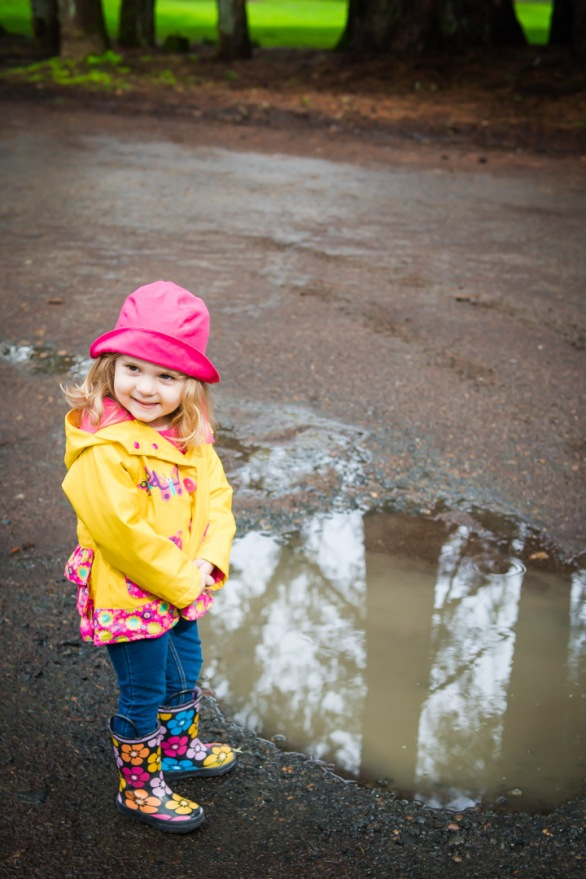 Riley Puddle Jumping