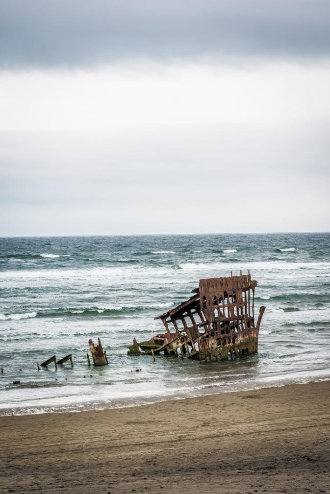 Peter Iredale Shipwreck - Warrenton, Oregon