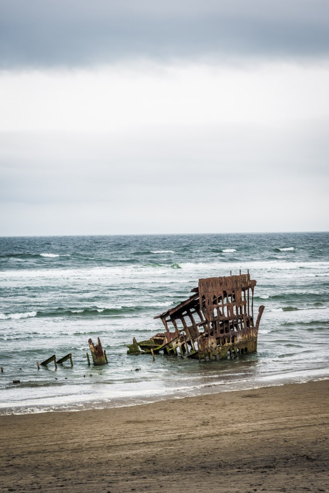 Peter Iredale Shipwreck - Warrenton, Oregon