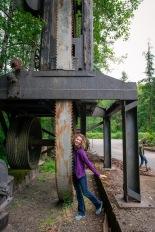 The daring Melanie at Camp 18