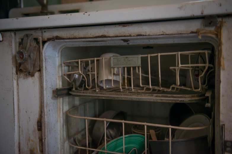 Old dishwasher