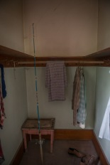 Harry Sherman's closet