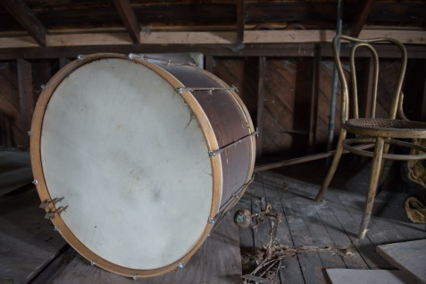 Drum in the attic