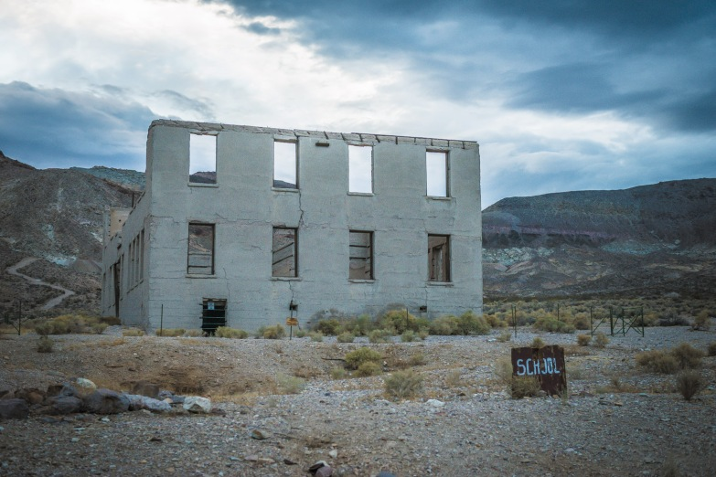Rhyolite's School House