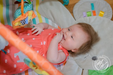 Miss Violet Pearl's 3 Month Photos-2