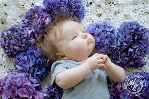 Miss Violet Pearl's 3 Month Photos-29