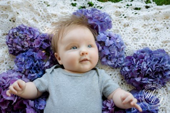 Miss Violet Pearl's 3 Month Photos-33
