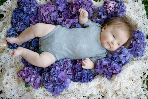 Miss Violet Pearl's 3 Month Photos-34