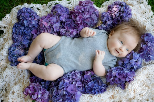 Miss Violet Pearl's 3 Month Photos-36