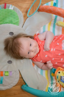 Miss Violet Pearl's 3 Month Photos-4