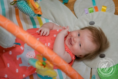 Miss Violet Pearl's 3 Month Photos-5