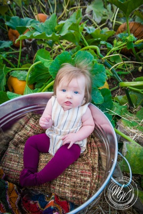 Miss Violet's 6 Month Photos-13