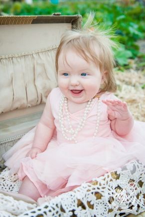 Miss Violet's 6 Month Photos-68