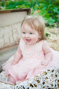 Miss Violet's 6 Month Photos-71