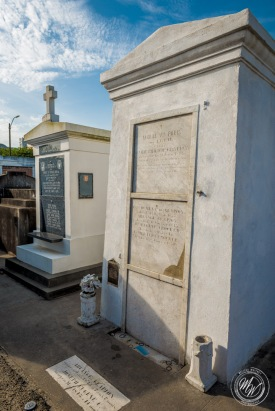 Tomb of Voodoo Queen Marie Laveau
