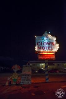 Brother-Sister Road Trip 2018 - Day 4 - Boundary Peak, Coaldale, Clown Motel-56