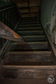 November 12 · The top of this staircase has now been sealed off.